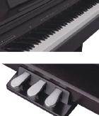 弾きごたえのある、本格的な音とタッチ